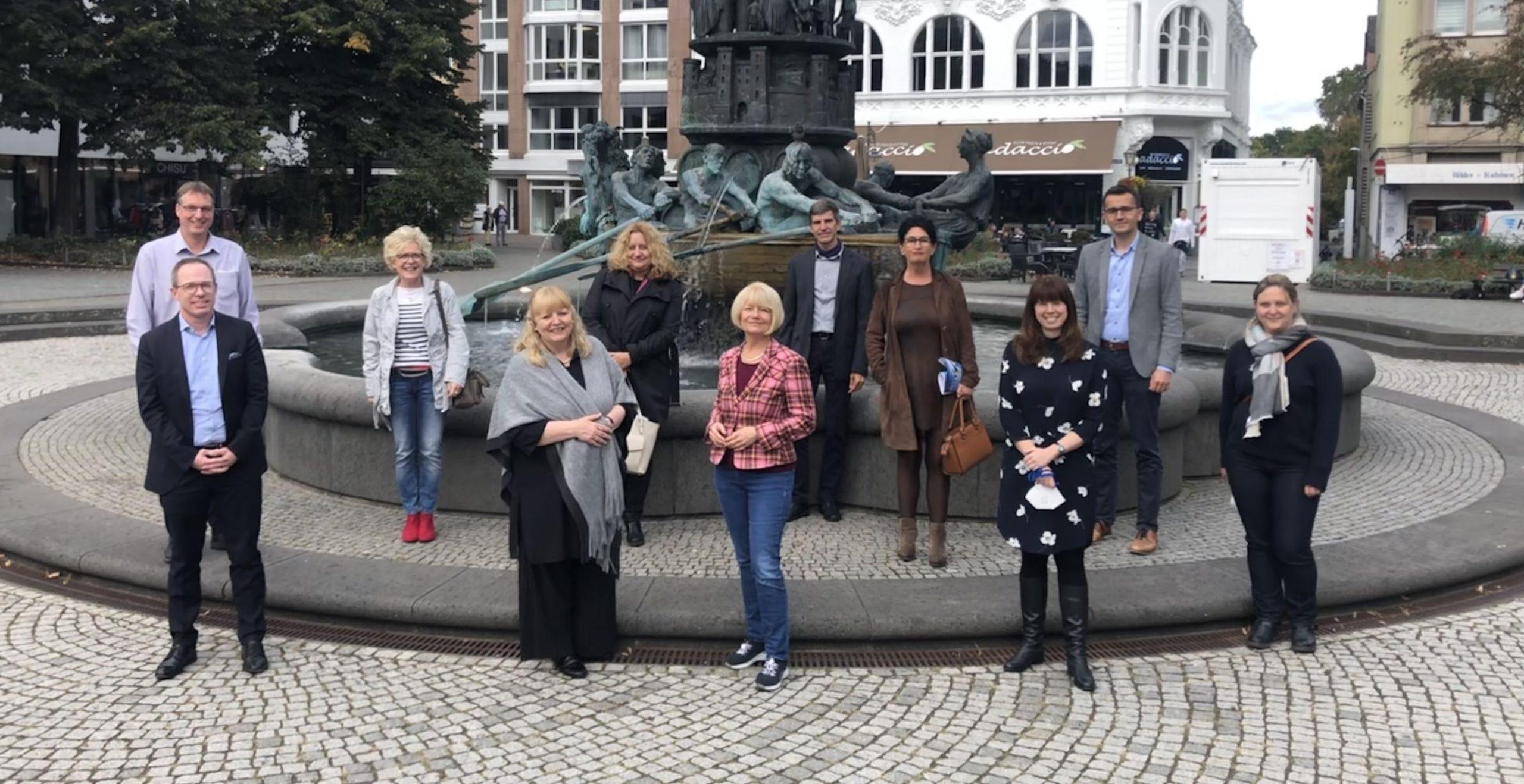 Teilnehmende des Projektforums der IHK-Bildungseinrichtungen und der Universität Koblenz